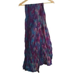 3/30$ Jewel Multicolored Winter Long Scarf